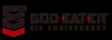 8周年ロゴ黒横
